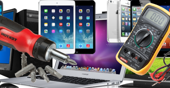 Repair computers, phones and Televisions